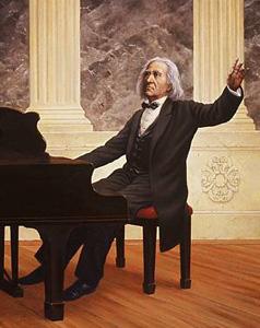 李斯特和他的独特练琴法