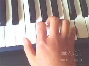 钢琴常见手型
