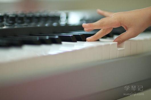 学钢琴的第一个飞跃在哪里?