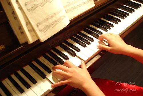 钢琴音程和弦练习