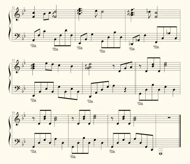 王者荣耀钢琴谱