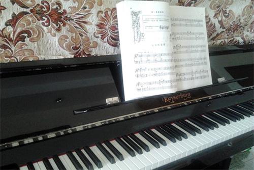 教儿子学习钢琴的心得