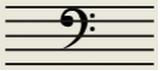低音谱号(F谱号)
