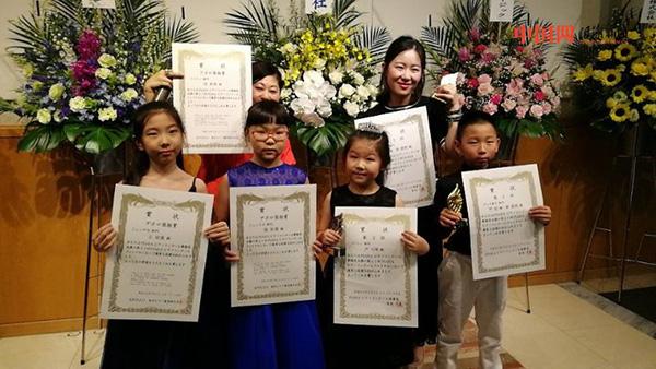 宁波4名儿童获日本浜松PIARA钢琴大赛