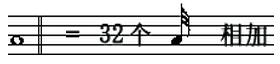 三十二分音符