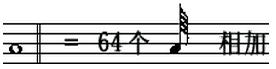 六十四分音符
