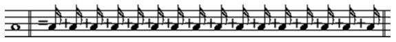十六分音符