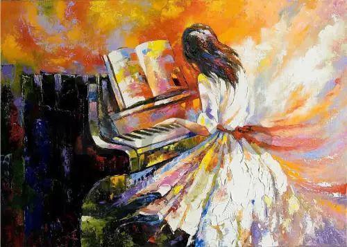学钢琴重要的是丰富自己的内在,而不是学给别人看!