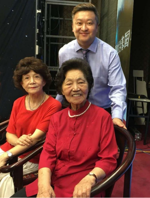 杰出青年钢琴教育家高新颜与中国钢琴教育家周广仁先生和鲍蕙荞先生