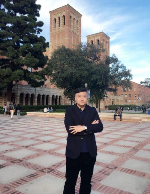 杰出青年钢琴教育家高新颜美国加州大学访问学者照片