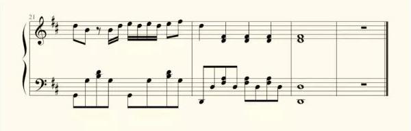 《说散就散》的钢琴谱