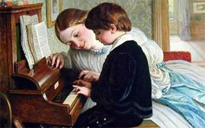 用快乐的心态陪伴孩子学琴
