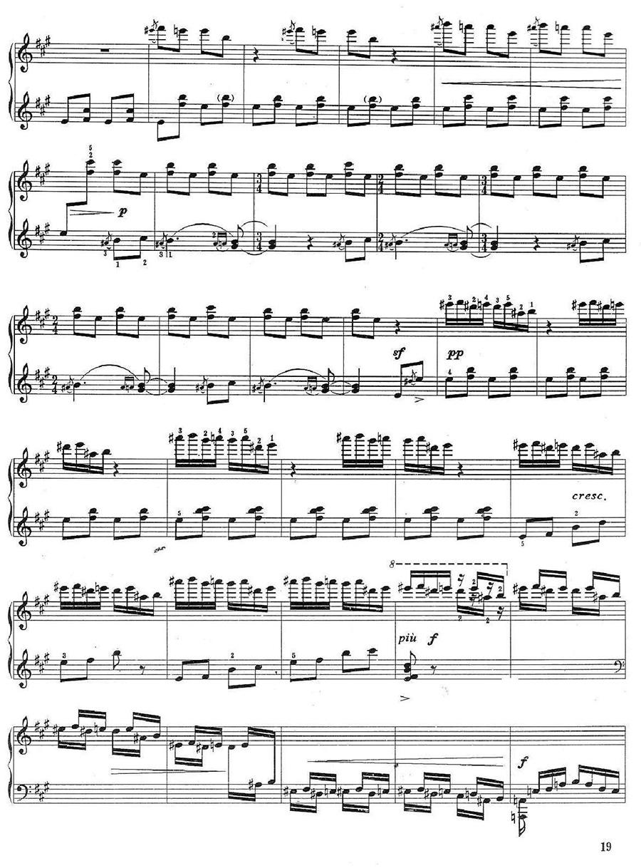 《百鸟朝凤》钢琴谱04