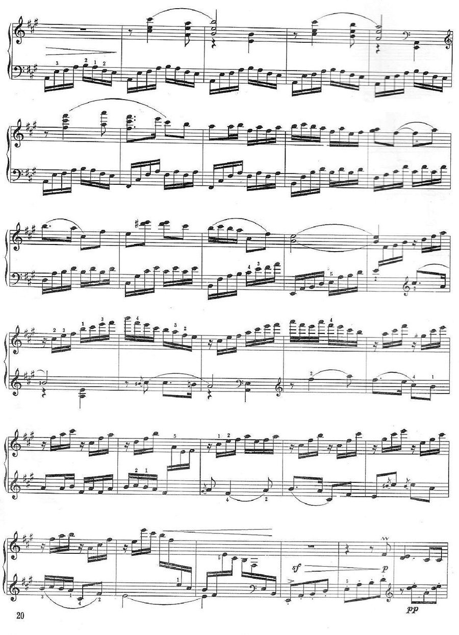 《百鸟朝凤》钢琴谱05