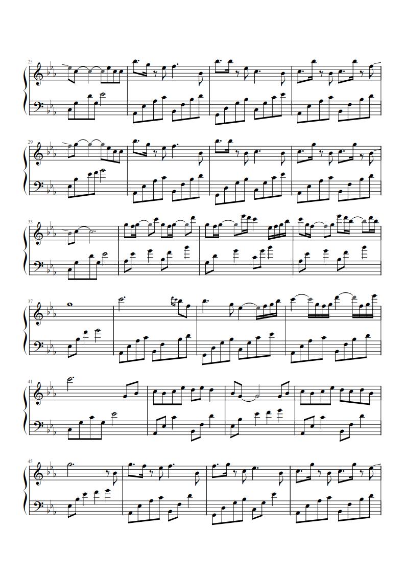 抖音钢琴曲 – 学琴记