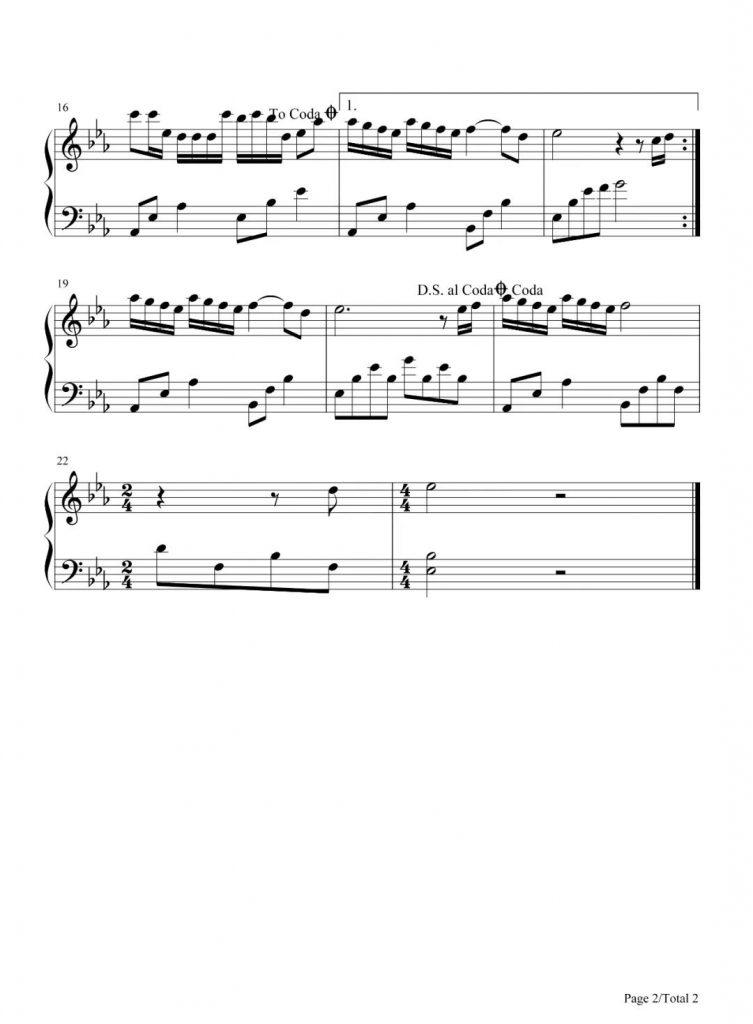 奔赴星空 钢琴谱-尹昔眠